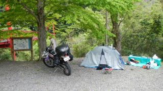 [無料] 松葉川林間キャンプ場