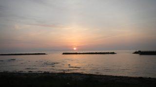 観瀾山公園海水浴場キャンプ場