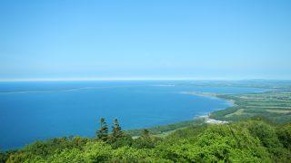 サロマ湖展望台(幌岩山林道)