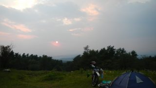 姫神山一本杉園地キャンプ場