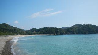 [無料] 田井の浜キャンプ場